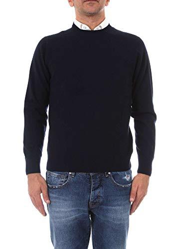 Hombre Lana Cu001g01f6v201473 Suéter Azul Cruciani td4Ywq4