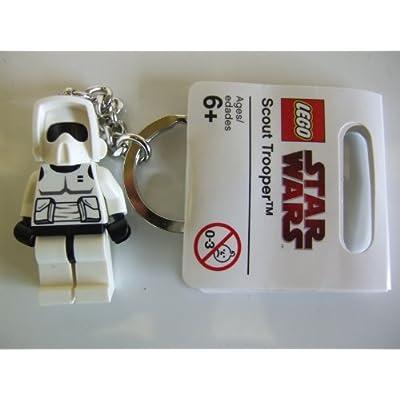 LEGO Star Wars Biker Scout Key Chain 852842: Toys & Games