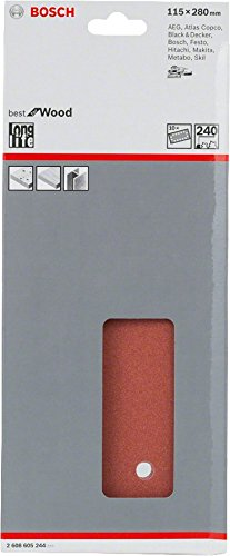 240 Bosch 2608605244 Set of Sanding Papers 115 x 280 mm