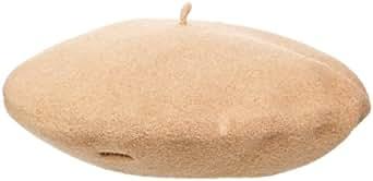 """Kangol 11"""" Modelaine Beret Hat, Camel, 1SFM"""