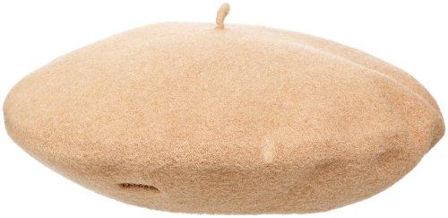 """KANGOL 11"""" Modelaine Beret Hat, -camel, 1SFM"""