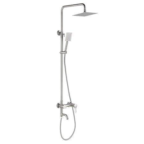 BG7 Elevador de baño ducha elevador de acero inoxidable 304 ...