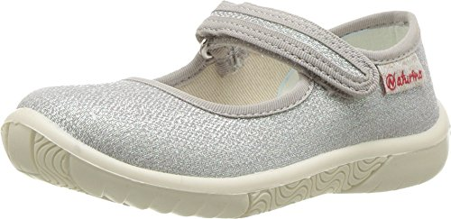 Naturino Baby Girl's 7703 USA SS17 (Toddler/Little Kid) Silver Shoe