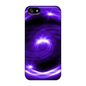 For Iphone 5/5s Protector Cases Purple Ying Yang Phone Covers