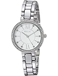 Women's Quartz Stainless Steel and Alloy Casual Watch, Color:Silver-Toned (Model: ZR34423)
