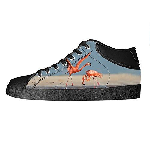 Custom modello Flamingo Mens Canvas shoes I lacci delle scarpe in Alto sopra le scarpe da ginnastica di scarpe scarpe di Tela. Venta De Liquidación Sneakernews Libres Del Envío Aclaramiento De Llegar A Comprar Venta Barata De Bajo Costo DCrSH
