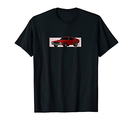American Muscle Car 69 Super-Stock AMC-AMX (T-Shirt) from Classic American Muscle Car Design Co LTD