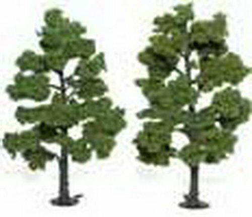 Woodland Scenics Light Green Ready Made Trees 6