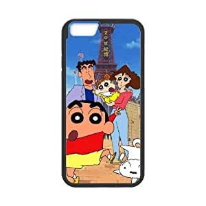 Protection Cover iPhone 6s Plus 5.5 Inch Cell Phone Case Black Mhecg Crayon Shin chan Personalized Durable Cases
