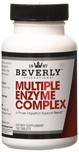 Beverly International Multiple Enzyme Complex Tablets, 10...