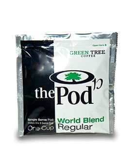 The POD, 1-Cup Coffee Pods - World Blend (Regular) 54 Pods