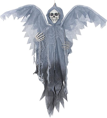 [Morris Costumes SS85356 Winged Reaper Grey 3 Ft] (Reaper Costume Ideas)
