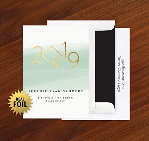Grad Year Foil Announcement - Set of 24-4122