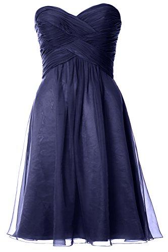 MACloth - Robe - Trapèze - Sans Manche - Femme -  bleu - 50