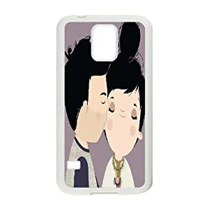 BLACCA Phone Case Of cute Lovers For Samsung Galaxy S5 I9600