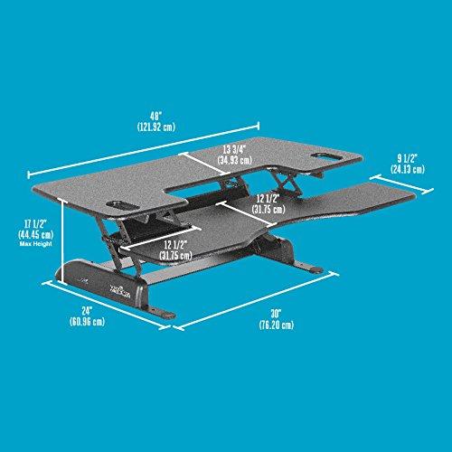 Galleon Varidesk Height Adjustable Standing Desk Pro