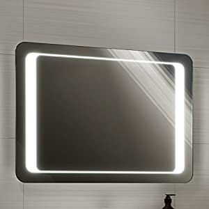 700 x 500 mm illuminated led bathroom mirror light with 23525