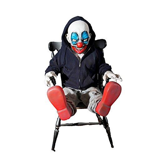 Distortions Unltd Halloween Party Giggles Latex Animated Prop (Giggles Latex Animated Prop)