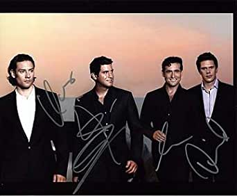 Il divo urs buhler sebastien izambard david miller carlos mar 39 n 8x10 music photo signed in - Il divo amazon ...