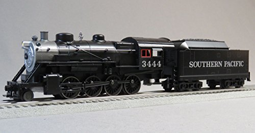 (MTH RAIL KING SOUTHERN PACIFIC STEAM ENGINE & TENDER w/ PROTO 3 o gauge)