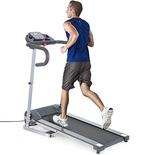 Treadmill Running Machine FCH Folding Electric Support Motorized Power Fitness Jogging Machine Affordable Easy Assembly Fitness Equipment Walking Treadmill for Home Office Gym 500W