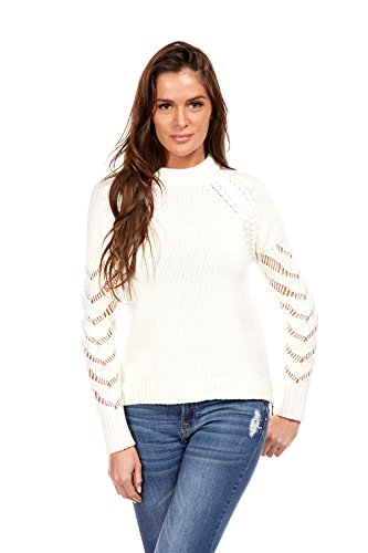 Longues CREATIONS DOUCEL Cristina Ajour Pull Manches w1wIU7qS