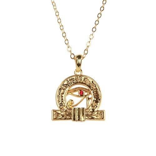 Of Horus Pendant Necklace Fashion Jewelry Alloy (Wedjat Eyes)