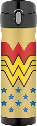 Thermos 16 Ounce Stainless Steel Commuter Bottle, Wonder - Women Hot Usa