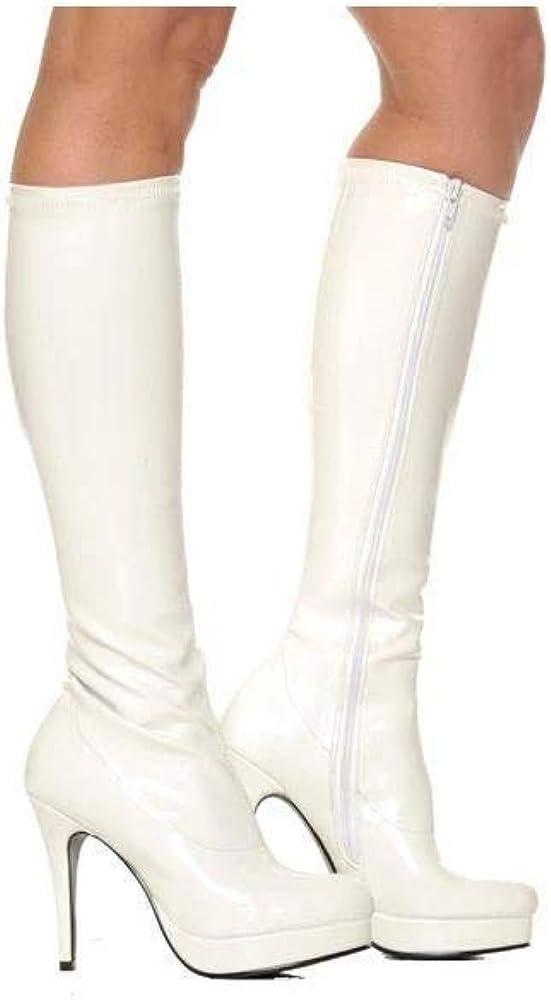Groove White Knee High Boot (6)