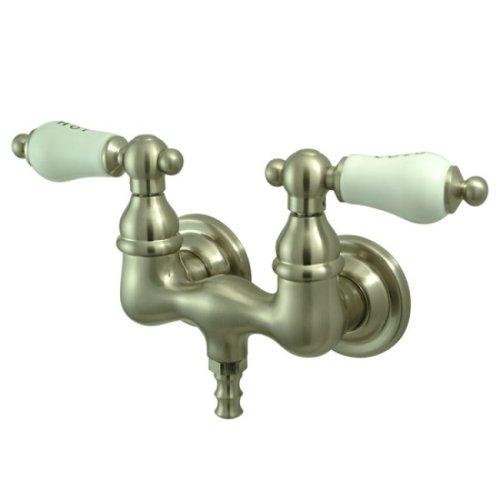 Kingston Brass CC33T8 Vintage Leg Tub Filler, Satin Nickel