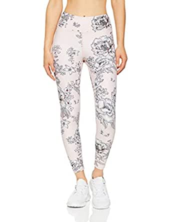 Dharma Bums Women's Tea Rose High Waist Printed Legging - 7/8, Multicoloured, Extra Small