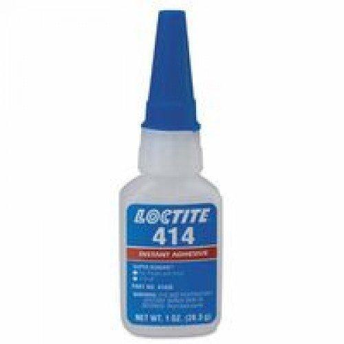 Loctite 233780 Clear 41404 414 Super Bonder General Purpose Instant Adhesive, 3 mL Tube
