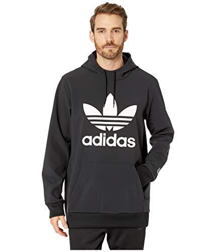- adidas Skateboarding Men's Team Tech Hoodie Black/White Medium