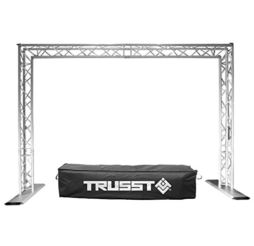 Mobile Truss System - Chauvet Trusst QT-GOAL POST KIT Mobile DJ Portable Lighting Truss System w/ Case