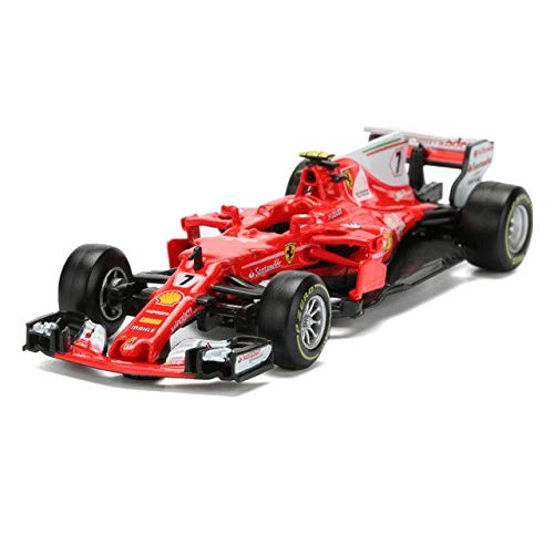 Bburago 2017 Ferrari Racing Formula 1 F1 SF70H #7 Kimi, used for sale  Delivered anywhere in USA