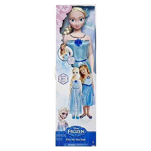 Disney Frozen My Size Elsa 38 Inch Doll with Light Up Hair Clip