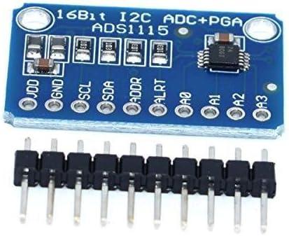 Akozon ADS1115 16-Bit I2C ADC Development Board for Arduino//Raspberry Pi