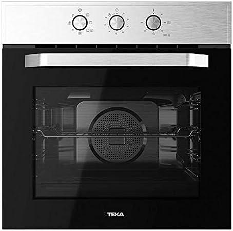 Teka HCB 6525 Horno Multifunción de 60 cm con HydrocleanECO | Sistema de Limpieza Hydroclean | 59.5 x 59.5 x 53.7+22 | Eficiencia Energética A+, Acero Inoxidable, Normal: Amazon.es: Hogar