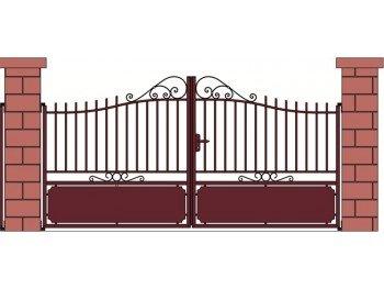 Cadiou - Portail Aluminium Tradition Guimaec à Partir de 3.0M X ...