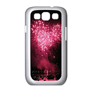 Fireworks ZLB593202 Customized Phone Case for Samsung Galaxy S3 I9300, Samsung Galaxy S3 I9300 Case