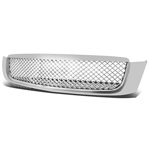 DNA Motoring GRF-003-CH Front Bumper Grille Guard Cadillac Deville Grille Replacement