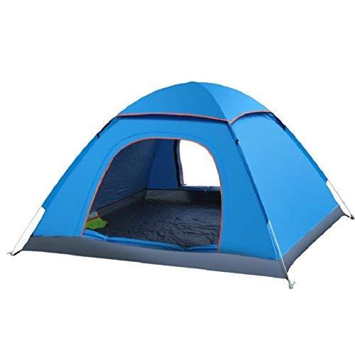 JIE Guo Outdoor Produkte Outdoor Camping Zelte, atmungsaktiv, regenfest, atmungsaktiv, Zelte, 3-4 Personen, Zelte, EIN Zimmer, Tragbare Outdoor-Zelt 7e1416