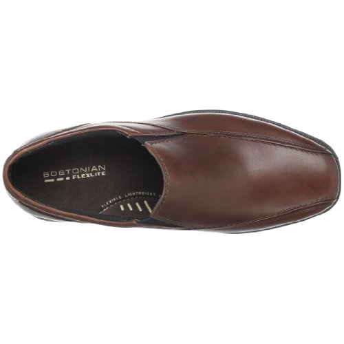 Bostonian Mens Bolton Dress Slip-on Brunt Läder