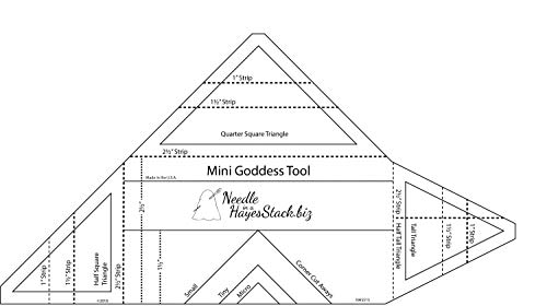 - The Mini Goddess Tool Quilting Template