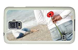 Hipster Samsung Galaxy S5 Cases protective FLower for Sweetheart PC White for Samsung S5