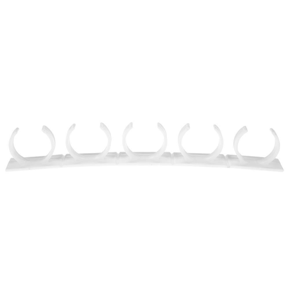 Mikolot 4 piezas de pl/ástico blanco para especias Clip Portabotellas de almacenamiento Herramientas de cocina