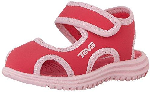 Teva Tidepool CT Water Sandal (Toddler/Little Kid), Paradise Pink/Almond, 5 M US Toddler