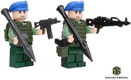 Custom personaje us soldado unidad especial de Lego ® piezas con accesorios Custom