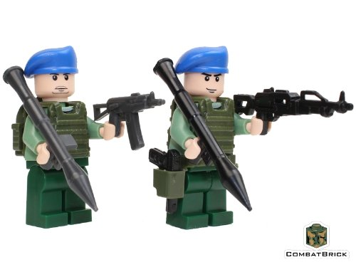 Russian Special Forces Spetsnaz 2 men pack - Custom Army Builder Minifigures lot (Best Custom Ak 47 Builders)