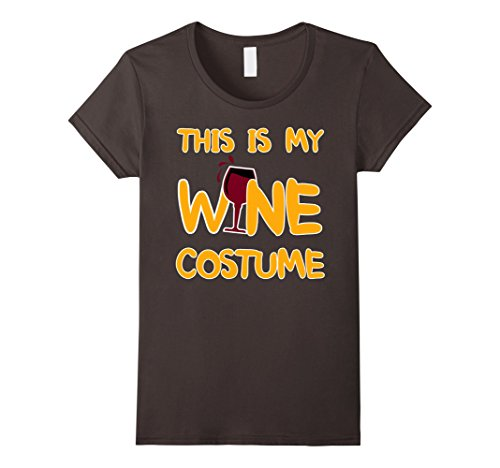 Wine Costumes Ideas (Womens Funny This Is My Wine Costume Halloween T Shirts Large Asphalt)